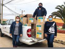 Vecinos del Choapa recibirán mascarillas gratuitas y reutilizables